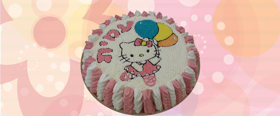 עוגה של הלו קיטי